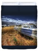 Car Graveyard Duvet Cover