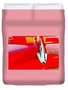 Car Hood Reflection Bump Map Duvet Cover