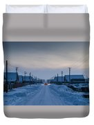 The Road Away From Here Duvet Cover