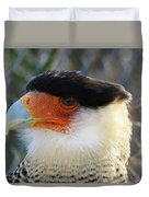 Caracara Bird Duvet Cover