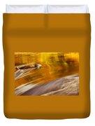 Caramel Duvet Cover
