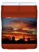 Caramel Sunset Duvet Cover