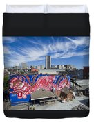 Caratoes Richmond Mural Project Duvet Cover