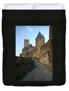Carcassonne Castle Duvet Cover