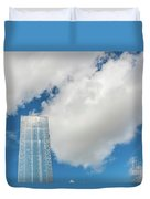 Cardiff Bay Water Tower Duvet Cover