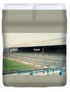 Cardiff - Ninian Park - East Stand Railway Side 2 - August 1991 Duvet Cover
