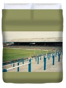 Cardiff - Ninian Park - East Stand Railway Side 3 - August 1991 Duvet Cover