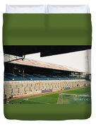 Cardiff - Ninian Park - East Stand Railway Side 5 - March 2004 Duvet Cover