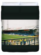Cardiff - Ninian Park - North Stand 3 - October 2004 Duvet Cover