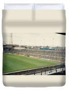 Cardiff - Ninian Park - South Stand Grange End 1 - August 1991 Duvet Cover