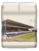 Cardiff - Ninian Park - West Stand 4 - October 1993 Duvet Cover