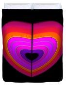 Cardinal Heart Duvet Cover