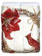 Cardinal Holiday II Duvet Cover