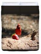 Cardinal Rule Duvet Cover