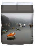 Careel Bay Mist Duvet Cover