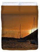 Caribbean Dawn Duvet Cover