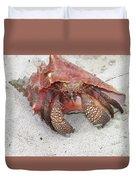 Caribbean Hermit Crab Duvet Cover