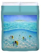 Caribbean Island Dream Duvet Cover