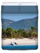 Caribbean Island Duvet Cover