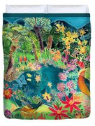 Caribbean Jungle Duvet Cover
