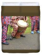 Caribbean Musicians. Duvet Cover
