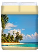 Caribbean Paradise Duvet Cover