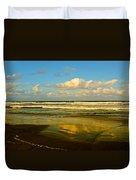 Caribbean Seascape Duvet Cover