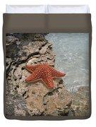 Caribbean Starfish Duvet Cover