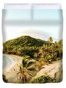 Caribbean Sunrise Duvet Cover