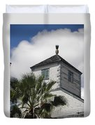 St. Maarten Welcome Duvet Cover