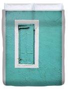 Caribbean Window Duvet Cover