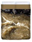 Caribou Stream Rapids Duvet Cover