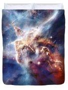 Carina Nebula Pillar Duvet Cover