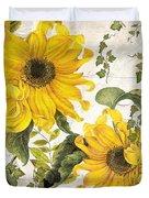 Carina Sunflowers Duvet Cover