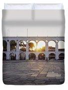Carioca Aqueduct, Rio De Janeiro Duvet Cover