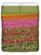 Carlsbad Flower Fields Duvet Cover