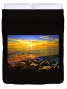 Carlsbad Sunset Duvet Cover