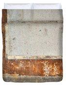Carlton 14 - Abstract Concrete Wall Duvet Cover