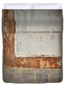 Carlton 14 - Abstract Concrete Wall Duvet Cover