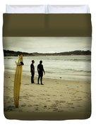 Carmel Beach, Ca Duvet Cover