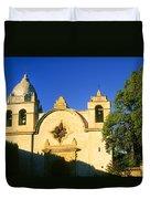 Carmel Mission Duvet Cover