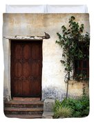 Carmel Mission Door Duvet Cover