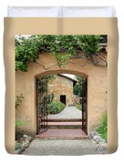Carmel Mission Path Duvet Cover