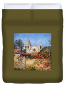 Carmel Mission Duvet Cover by Shelley Cost