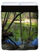 Carmel River At Gilmore Ranch Duvet Cover