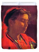 Carmelita Requena 1870 Duvet Cover