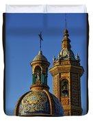 Carmen Chapel Seville Spain Duvet Cover