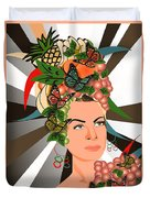Carmen Miranda Duvet Cover