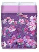 Carnation Inspired Art Duvet Cover