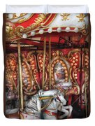 Carnival - The Carousel Duvet Cover